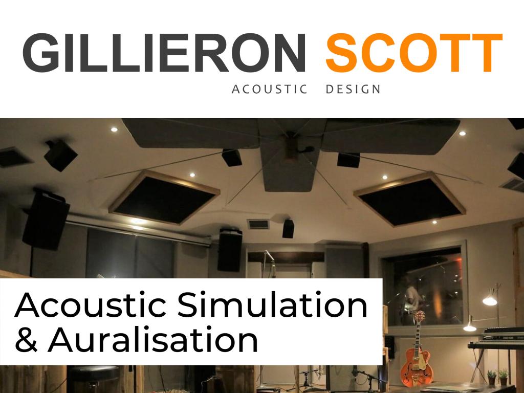Acoustic Simulation & Auralisation Acoustic Consultant London